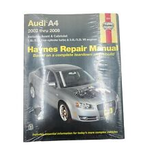 2002 thru 2008 Audi A4 Haynes Repair Manual (Includes Avant & Cabriolet)
