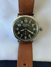 Shinola 41mm Initial Limited Edition Runwell Watch #136 of a production of 1500