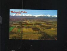 MATANUSKA VALLEY PALMER ALASKA TALKEETNA MOUNTAINS POSTCARD C.P. JOHNSTON MAC'S