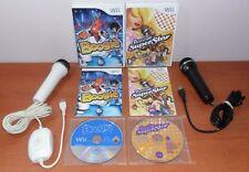 Boogie & Boogie SuperStar + 2 micrófonos, EA, Nintendo Wii / WiiU, Pal-España