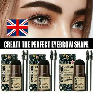 Stencils One Step Brow Stamp Shaping Kit Eyebrow Stamp Shaping Makeup Set NEW.