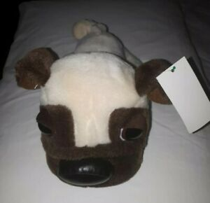 PUG DOG WITH BIG CUTE EYESPLUSH SOFT TOY DOG, 25CM STUFFED  TOY  New FREE POST