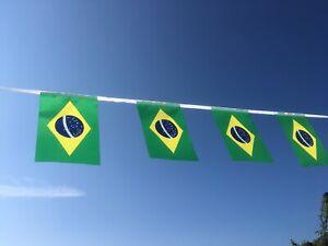 Brazil Brazilian Fabric Bunting World Cup wholesale Free1st Class postage!