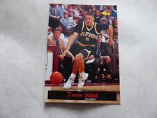 JASON  KIDD - 15TH  NATIONAL SPORTS COLLECTION -  1994- CLASSIC GAMES INC  CARD