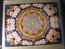 MAGIC MANDALA PSYCHEDELIC VINTAGE POSTER GARAGE 1970s CNG1381