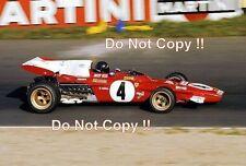 Jacky Ickx Ferrari 312 B2 German Grand Prix 1971 Photograph 2