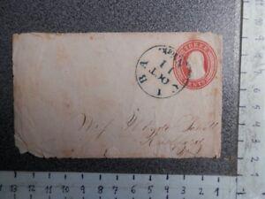 CUBA SOBRE PREFRANQUEADO Y RARO FECHADOR CUBA N. YORK EN EL MISMO  AÑO 1911
