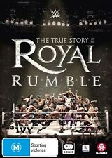 The WWE - True Story Of The Royal Rumble (DVD, 2017, 3-Disc Set)