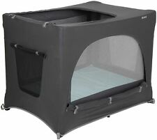 Little Life TRAVEL COT BLACKOUT Black Baby Toddler Travel Accessory Protection