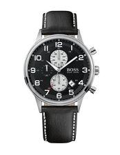 Polierte Quarz-(Batterie) Armbanduhren aus Edelstahl mit Arabische Ziffern