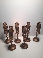 Old Cast Iron Serviette Holders