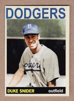 Duke Snider '47 Brooklyn Dodgers Monarch Corona Private Stock #23 mint cond.