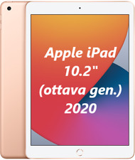 "Apple iPad 2020 128GB Wi-Fi 10.2"" MYLF2TY/A NUOVO ITALIA Tablet Gold 8gen."