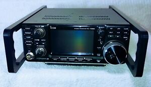 IC-7300- IC-9700 Transceiver radio  rack mount handles machined. No RF issues