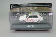 Zt730 car ixo 1/43 taxi du monde seat ritmo madrid 1980 white