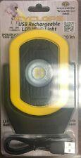 Maxxeon MXN00810 812 Cyclops USB Rechargeable LED Work Light Magnet 720Lm YELLOW