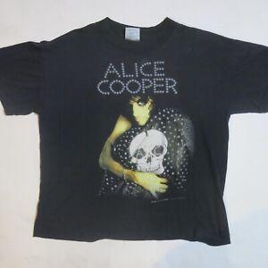 VINTAGE ALICE COOPER 1989 VINTAGE CONCERT SHIRT TRASH TOUR