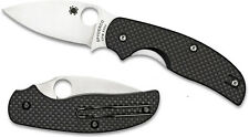 Spyderco Sage Carbon Fiber Plain Edge C123CFP ***NEW***
