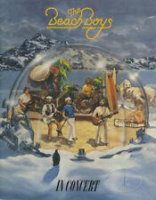 BEACH BOYS 1980 Tour Concert Program Tour Book
