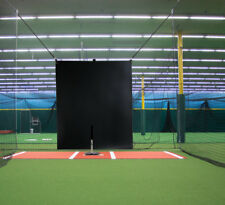 5' x 6'  Heavy Duty Vinyl Baseball Batting Cage Backstop - GBCC™ - BLACK