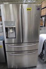 "Samsung RF28JBEDBSR 36"" Stainless French 4 Door Refrigerator NOB #29734 HL"