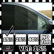 "Uncut Window Tint Film Roll 15% VLT 20"" 180"" 15 Feet Office Home Car Commercial"