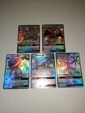 New listing Pokemon hidden fates shiny gx lot