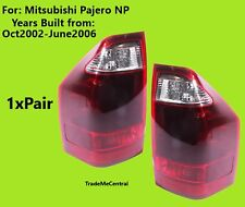 Mitsubishi Pajero NP 2002 2003 2004 2004 2005 2006 TAIL LIGHTS Left & Right Side