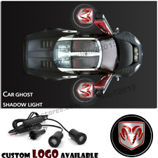 Dodg e Logo Car Door Laser Projector Ghost Welcome Shadow Light For Dod ge RAM