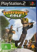 PS2 Everybody's Golf Inc Manual
