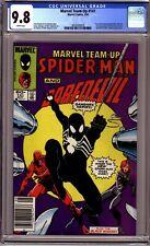 MARVEL TEAM-UP #141 (1984) CGC 9.8 NM/MT NEWSSTAND BLACK SUIT SPIDER-MAN