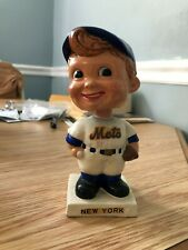 1962-63 NEW YORK METS BOBBLE HEAD  NODDER WHITE SQUARE BASE *RARE*