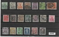 #5595  Small stamp set / GERMANY /  Nice mix before 1930  /  Pre Third Reich era