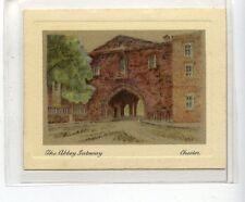 (JD1877-100)  MILLHOFF,ENGLAND HIST & PICTURESQUE 2ND,ABBEY GATEWAY,1928,#40