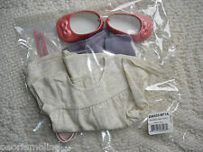 American Girl ISABELLE Metallic Dress 2nd Ed Outfit~4 PC~NEW Shoes Tee-Tunic