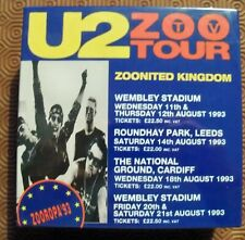 "U2 ""ZOONITED KINGDOM"" 12CD BOX SET UK TOUR 6 COMPLETE SHOWS 1993 NEW MINT SEALED"
