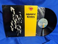 """""""Judgement at Nuremberg"""" OST LP MCA Classics Promo Reissue"""