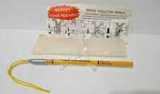 VINTAGE MAGIC HOLETITE PENCIL with instructions