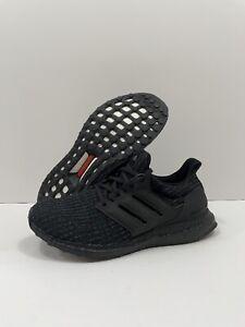 Adidas UltraBoost 4.0 DNA Men Size 7.5/Wmn's 9 Running Triple Black Shoes GW2289