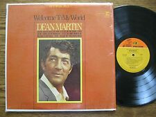 Dean Martin LP 1967 Welcome to my world EX + stereo in shrink Reprise RS 6250