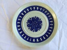 "Stonehenge Midwinter BLUE DAHLIA 6-1/4"" Saucer  Wedgewood Made in England"