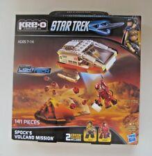 Spock's Volcano Mission STAR TREK Kre-o KREO NEW A3139