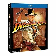 Indiana Jones The Complete Adventures Blu-ray 1981 Region