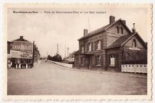 Belgium ~ Marchienne-au-Pont: Gare de Marchiennes Zone rue Max Lambert Postcard