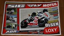 2014 Caroline Olsen ADR Motorsports Yamaha YZF-R6 Supersport AMA poster