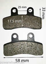 BP021 FRONT BRAKE PADS FOR 125CC ORION DIRT / PIT BIKE