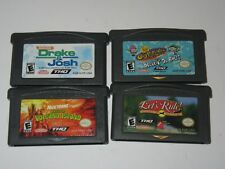 Nintendo Game Boy Advance GBA Lot of 4 Games ---
