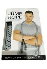 FORM FIT NON-SLIP SOFT GRIP HANDLES 9' JUMP ROPE-NEW GET IT FAST ~ US SHIPPER
