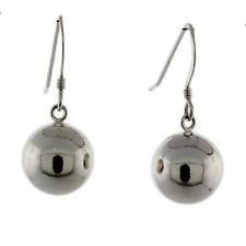 Sterling Silver French wire 12mm Ball earring