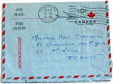CANADA   TIMBRES   OBLITERES SUR LETTRE  550